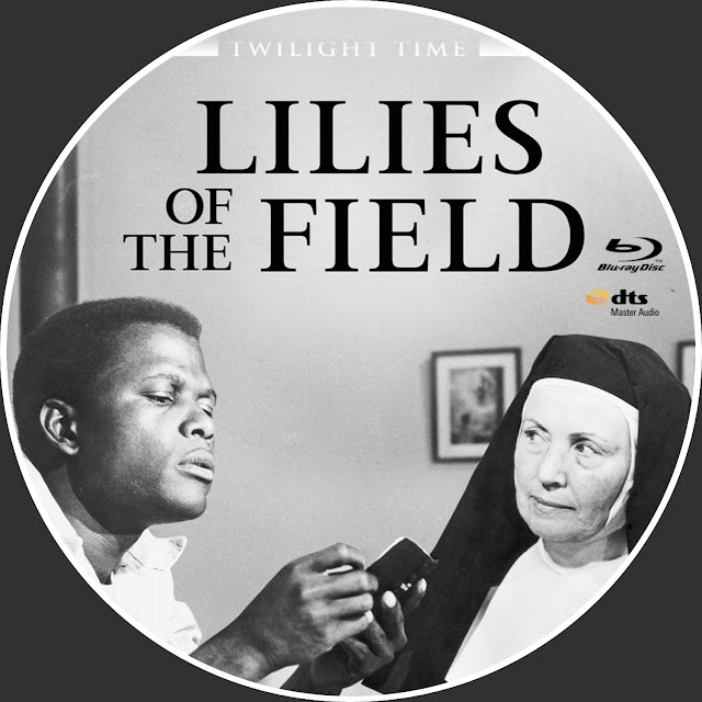 Lilies Of The Field Bluray Label