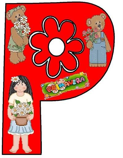 Dibujos letras primavera para imprimir | Imagenes y dibujos para ...