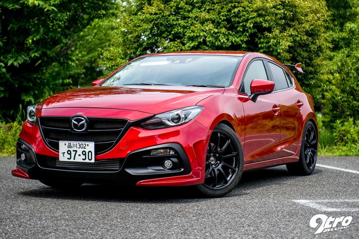 All New Mazda 3 ชุดแต่งจาก Knight Sports Fha Mazda จอง