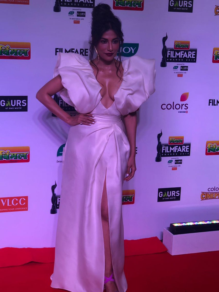 Chitrangda Singh Hot at Filmfare awards 2019