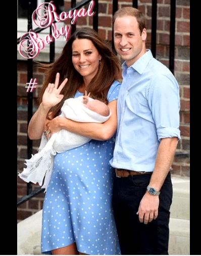 #RoyalBaby :Duchess of Cambridge (Kate Middleton) gives birth to third baby - a boy