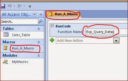 How to Run VBA Macro Code with a Microsoft Access Macro