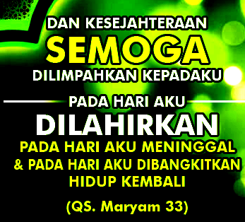 doa ucapan ulang tahun islami untuk diri sendiri gambar islami