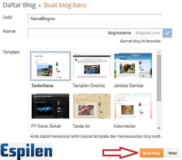 Blog yakni situs semacam website yang berkhasiat membagikan informasi melalui artikel yang  Cara Membuat Blog Gratis Dengan Mudah