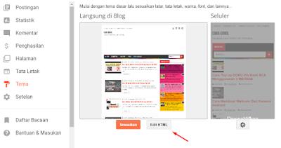 Cara Menghilangkan Icon Obeng Dan Tang Di Blog