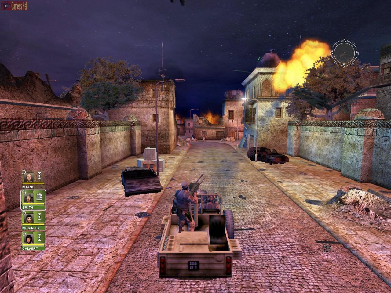 تحميل لعبة desert storm 3 مضغوطة