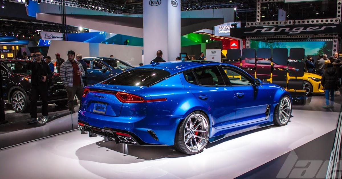 NAIAS 2018 Spotlight #1: West Coast Customs Kia Stinger GT
