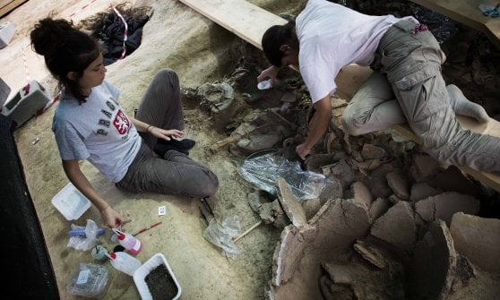 Monumental tomb of Piceni 'warrior prince' unearthed in Corinaldo, Ancona