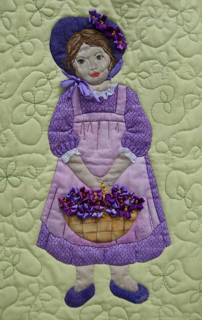 violets quilt