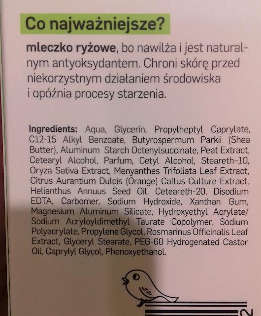 Tołpa nature story biały ryż nawilżający krem z antyoksydantami