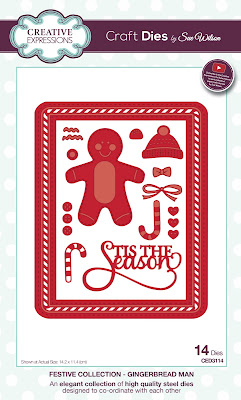Festive Collection Gingerbread Man Dies - CED3114