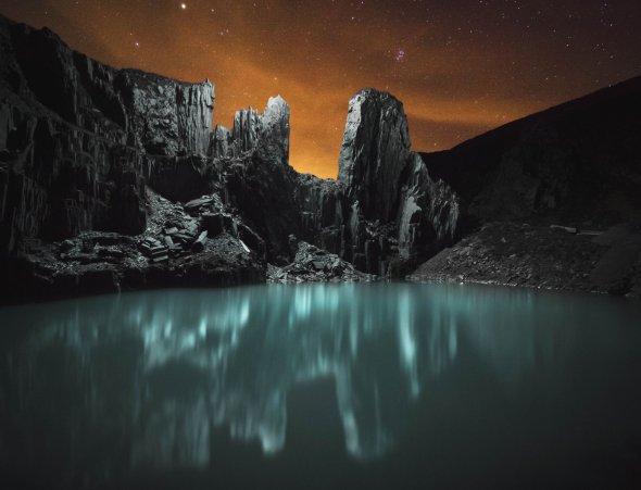 Reuben Wu arte fotografia paisagens natureza noite luzes drones paisagens