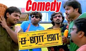 Saroja Comedy Scenes | Shiva | Premji Amaren | Vaibhav | Charan | Jayaram | Vega