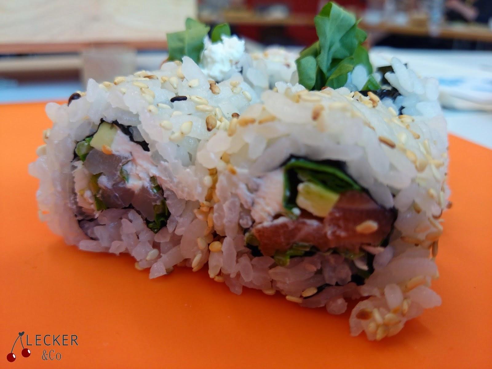 Sushi, MAki, Nigiri, Temaki, Reis, Fisch, Lachs, Gurke, Avocado, Rucola, Mango, frisch