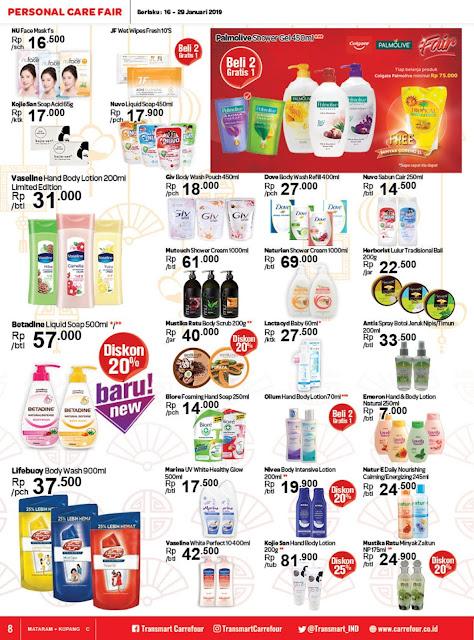 Katalog Promo Transmart Carrefour Mataram Edisi 16 Januari Sampai 29 Januari 2019