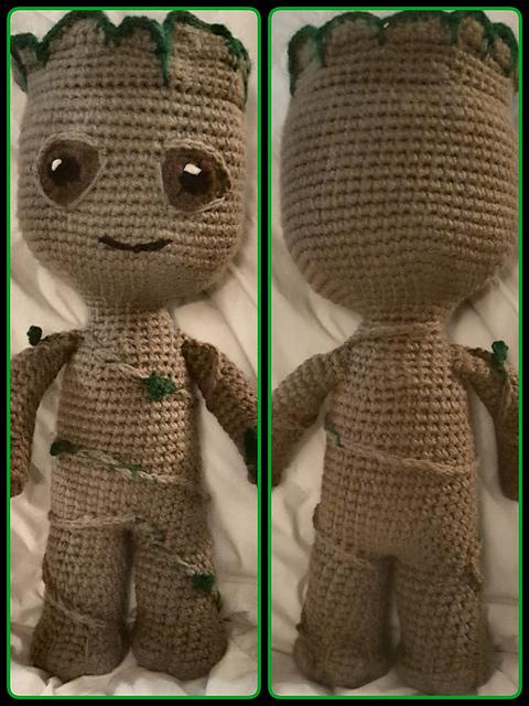 Crochet Amigurumi Groot