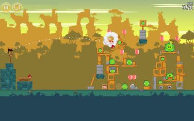لعبة Angry Birds Classic مكركة، لعبة Angry Birds Classic مود فري شوبينغ