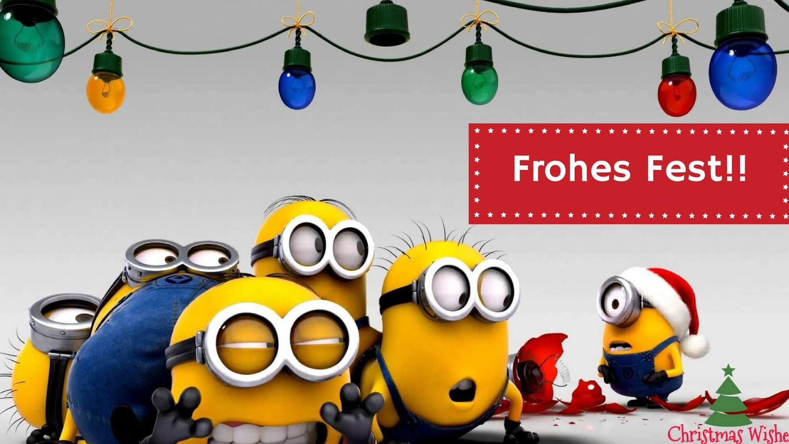 weihnachtsgrube minions frohe weihnachten in europa. Black Bedroom Furniture Sets. Home Design Ideas