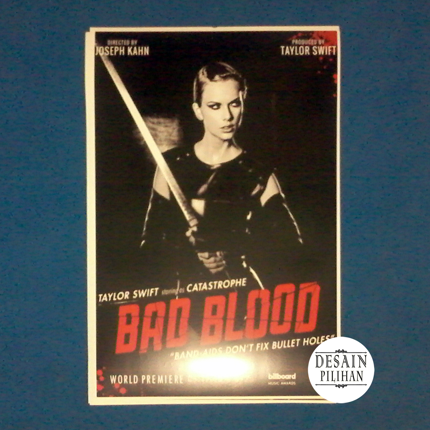 POSTER TAILOR SWIFT BAD BLOOD