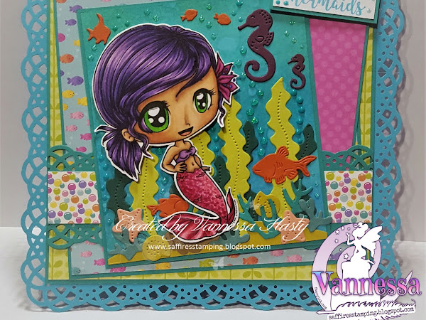 Let's Be Mermaids with Sassy Mermaid Chibi