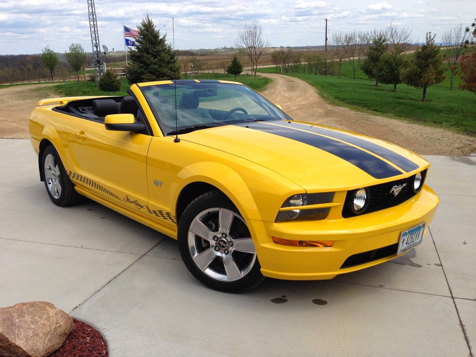 2006 ford mustang gt convertible premium for sale american muscle cars. Black Bedroom Furniture Sets. Home Design Ideas