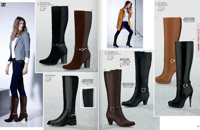 Andrea invierno 2016 botas de moda