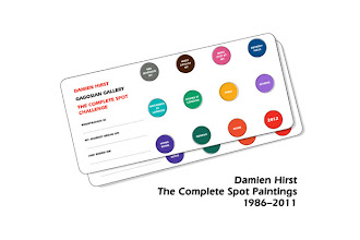 Expo : Damien Hirst, The Complete Spot Paintings 1986-2011 - Gagosian Gallery Paris - Jusqu'au 17 mars 2012