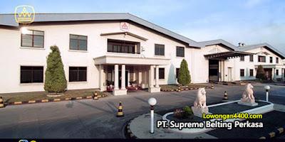 Lowongan Kerja PT. Supreme Belting Perkasa Juni 2020