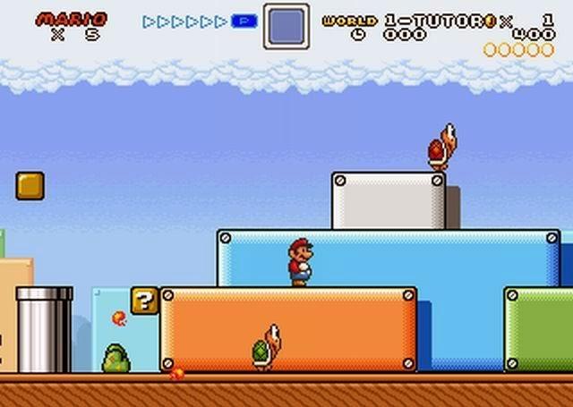 Super Mario Fusion Revival PC Games Gameplay