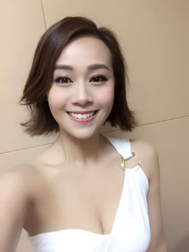 Asian E News Portal: Jacqueline Wong shared photo of - Asian Hairstyle