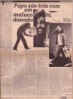 Alceu Valença, Jornal Canja, maio de 1980.