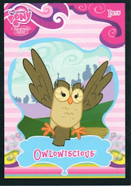 My Little Pony Owlowiscious Series 1 Trading Card