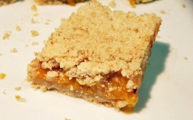 Moveable Feasts: Fresh Apricot Oatmeal Bars