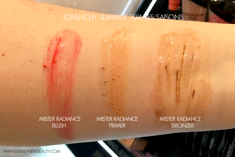 givenchy-mister-radiance-primer-blush-bronzer-summer-2016-les-saisons-swatches