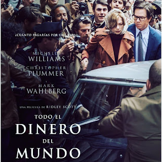 All the Money in the World,Todo el dinero del mundo, cine, película, cartelera, nos vamos al cine,