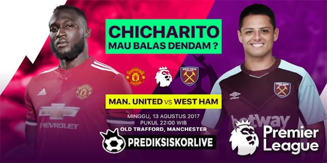 PREDIKSI Manchester United vs West Ham United: Balas Dendam Chicharito?
