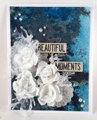 Sizzix Tattered Pinecone Tim Holtz Quote Chips Ranger Distress Stain Spray  For the Funkie Junkie Boutique