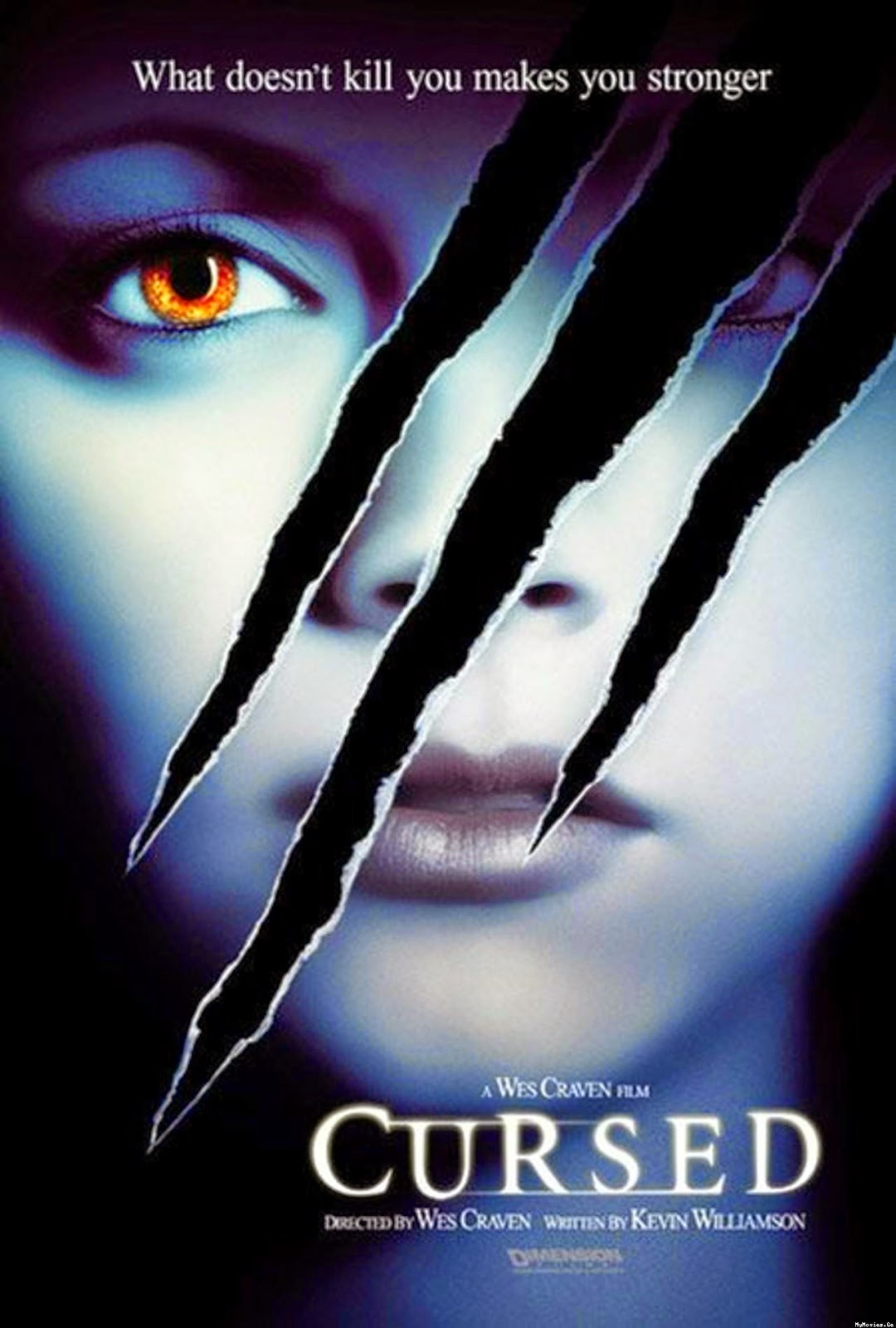 The Girl Who Loves Horror: Movie Review: Cursed (2005