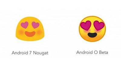 Tampilan Emoji Baru di Android O