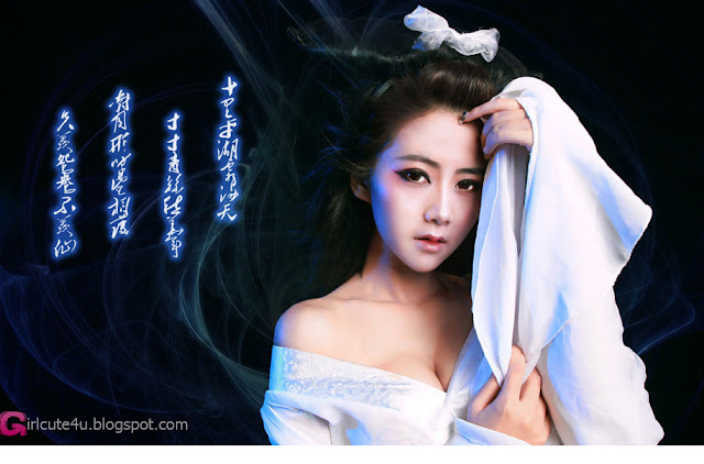 1 Zhao Sam - Ghost Story Nie Xiaoqian gentle wan and weak-Very cute asian girl - girlcute4u.blogspot.com
