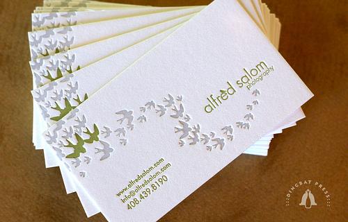 In nhanh card visit rẻ đẹp, thiết kế sang trọng chuyên nghiệp alfred salom
