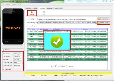 Cara Flash Vivo E5 100% Sukses
