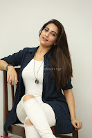 Manjusha in White Tight T Shirt and Black Jacket ~  Exclusive Celebrities Galleries 030.JPG
