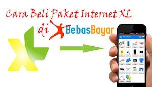 Cara Cek dan Beli Paket Internet XL di BebasBayar