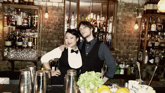 """When it comes to knowledge and skills behind the bar I cannot help but mention my last work place in London - Evans and Peel Detective Agency"". Interview with Yvonne Tran"