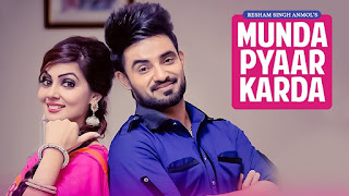 Munda Pyaar Karda Lyrics - A single punjabi song in the voice of Resham Singh Anmol & Simar Kaur, composed by Gupz Sehra while lyrics is penned by Amanjeet Singh.
