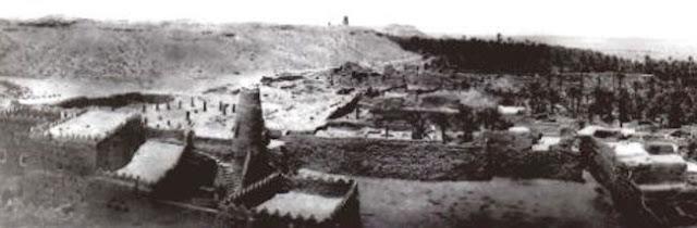منظر عام لدومة الجندل 1922م