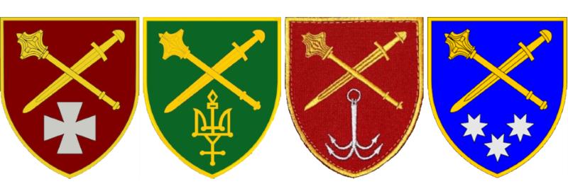 Нова символіка оперативних командувань Сухопутних військ
