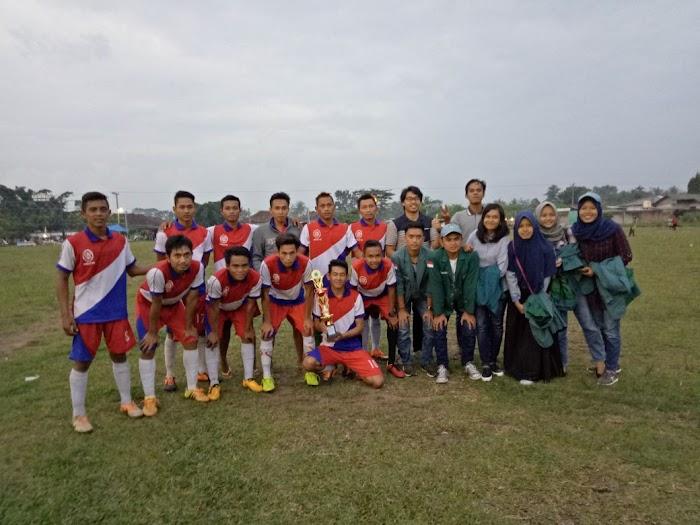 Liga Sepak Bola KKN Unila Di Tubaba Mampu Menghasilkan Juara Antar Tiyuh
