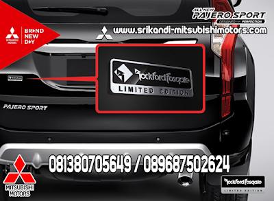 Rockford Fosgate Limited Edition Emblem